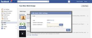 Facebook custom app icon - change custom tab image
