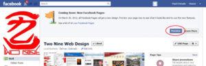 Facebook custom app icon